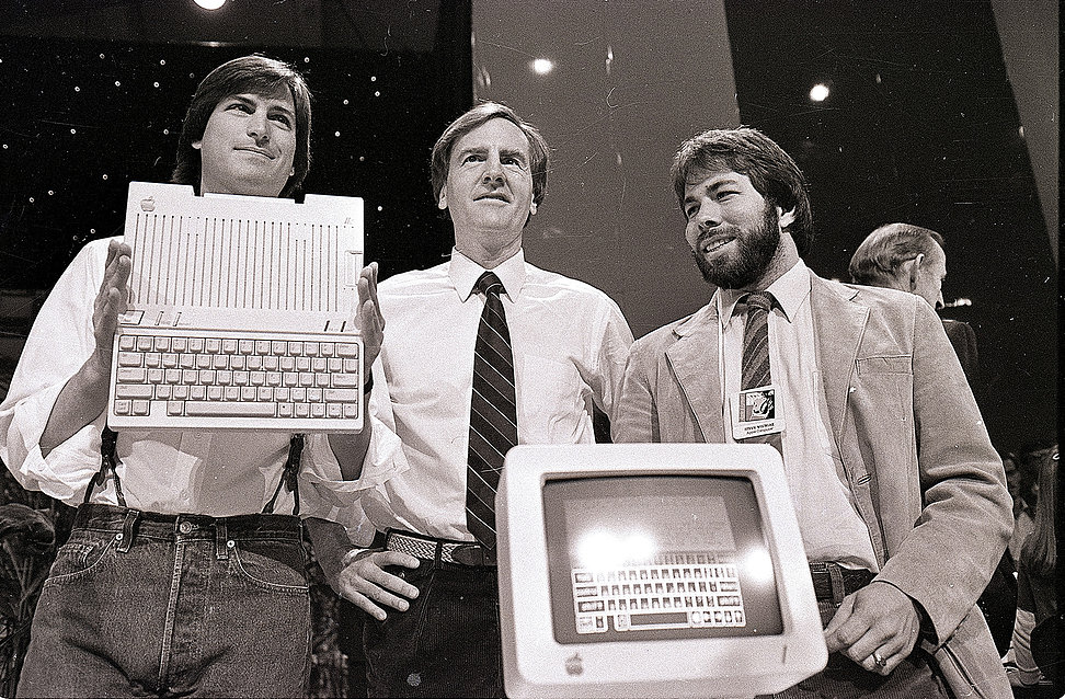 Steve Jobs John Sculley Steve Wozniak